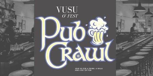 Orientation Fest Pub Crawl