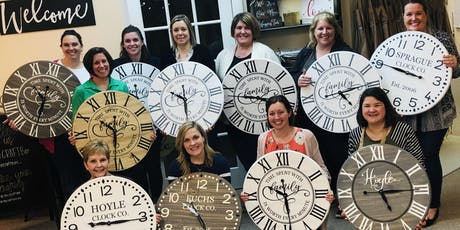 TIME TO MAKE A CLOCK! tickets