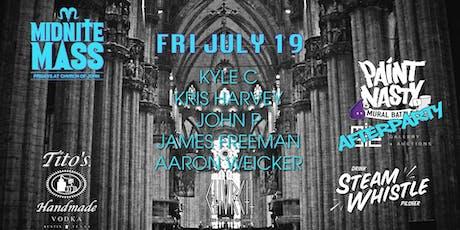 MIDNITE MASS - Fri July 19 tickets