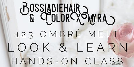 123 Ombré Melt Class & Hands On tickets