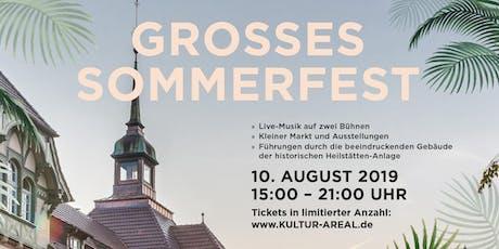 Grosses Sommerfest im Kultur-Areal Beelitz Heilstätten Tickets