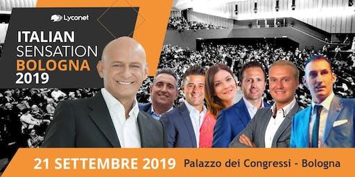 ITALIAN SENSATION BY LYCONET I.M. - 21 SETTEMBRE 2019