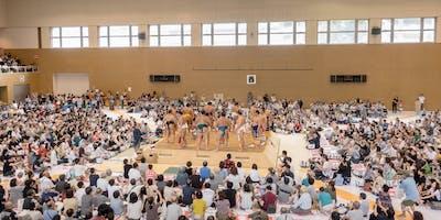 See Professional Sumo Wrestling in Sendai 8/11