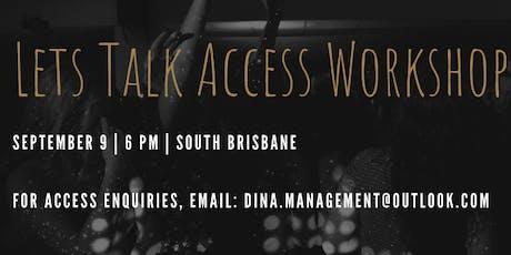 Let's Talk Access Workshop #2 tickets