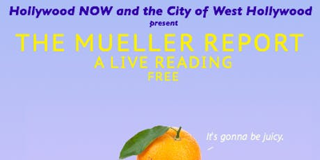 The Mueller Report: A Live Reading tickets