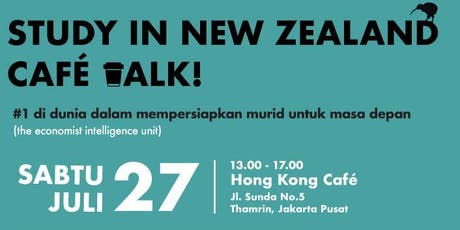 Study In New Zealand Cafe Talk tickets