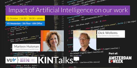 KINTalks: Impact of Artificial Intelligence on our work tickets