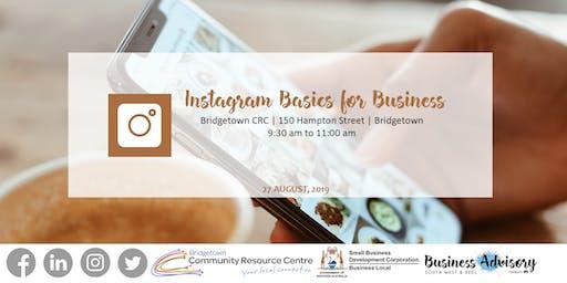 Instagram Basics for Business | Bridgetown