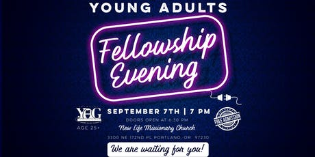 Oregon Slavic Young Adults Christian Fellowship Evening tickets