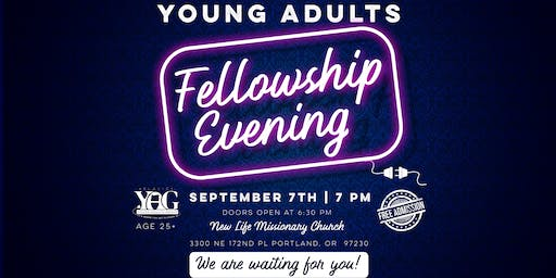 Oregon Slavic Young Adults Christian Fellowship Evening
