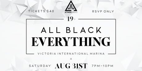 All Black Everything 2019  tickets