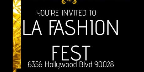 La Fashion Fest TICKETS tickets