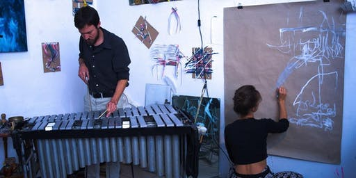 Drawing with Sound: Soundscape Making and Action Painting with Mahagonny