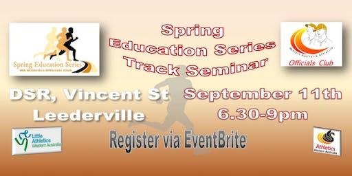 Track Seminar - Spring Education Series
