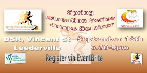 Jumps Seminar - Spring Education Series