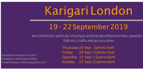 Karigari London 2019 - The Festive Special tickets