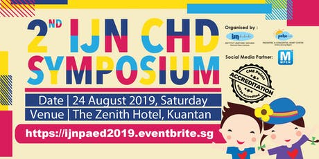 2nd IJN CHD SYMPOSIUM tickets