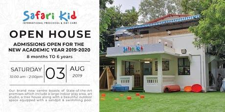 Open House- Safari Kid Bandra tickets