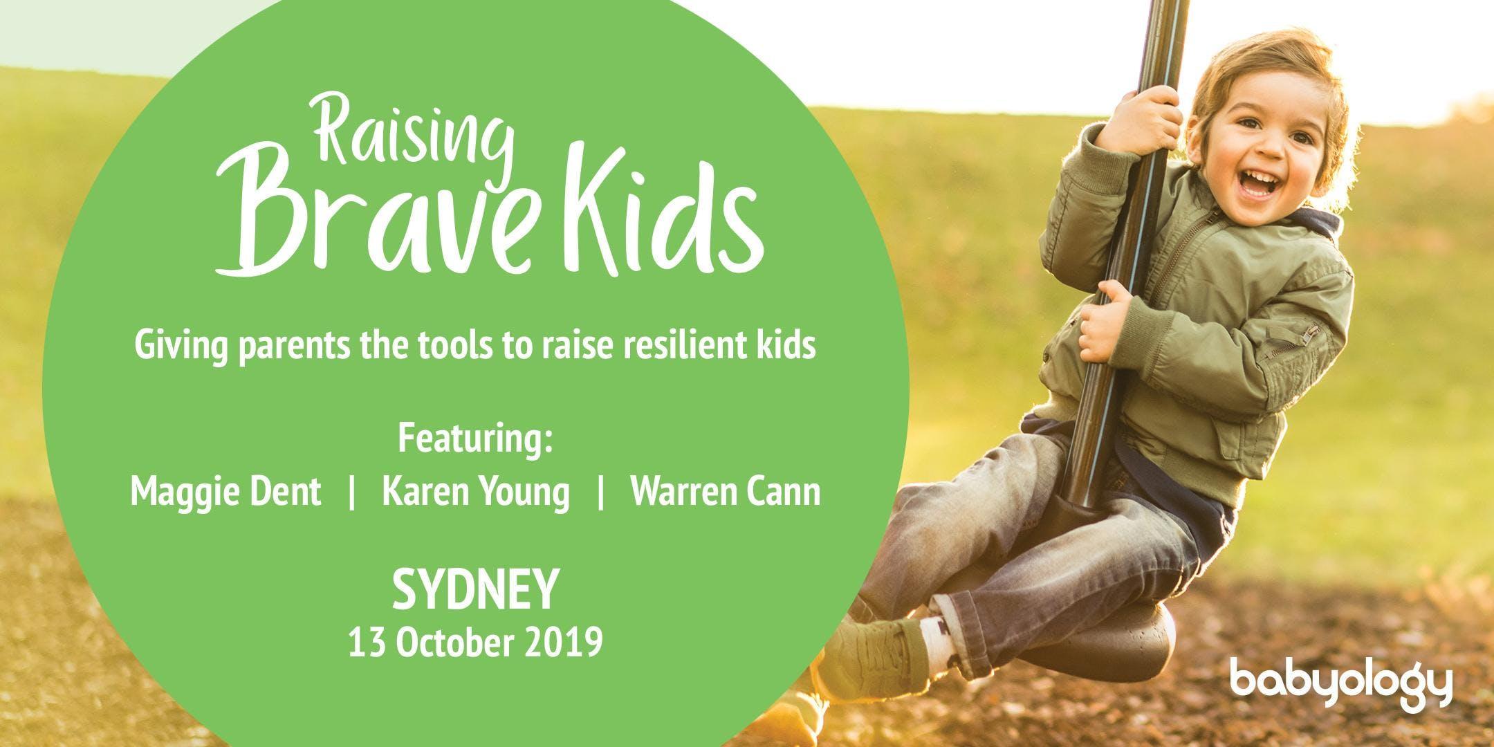 Raising Brave Kids with Maggie Dent - A Babyology Parent Workshop