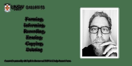 Research Forum: Seth Kim-Cohen