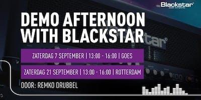 Afternoon with Blackstar bij Bax Music bij Bax Music in Goes