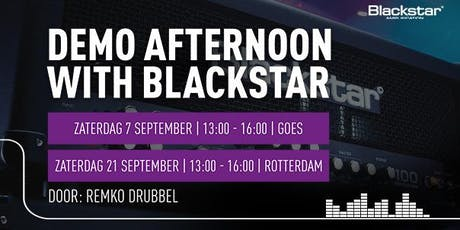 Afternoon with Blackstar bij Bax Music bij Bax Music in Goes tickets
