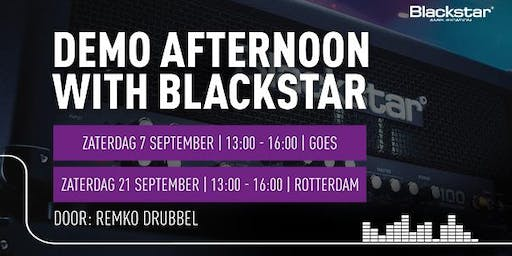 Afternoon with Blackstar bij Bax Music bij Bax Music in Goes