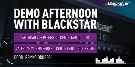 Afternoon with Blackstar bij Bax Music bij Bax Music in Rotterdam