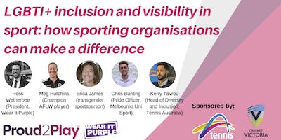 LGBTI+ Visibility in Sport: Panel Discussion for Wear It Purple Day