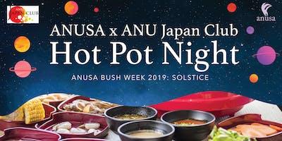 ANUSA x Japan Club Hot Pot Night