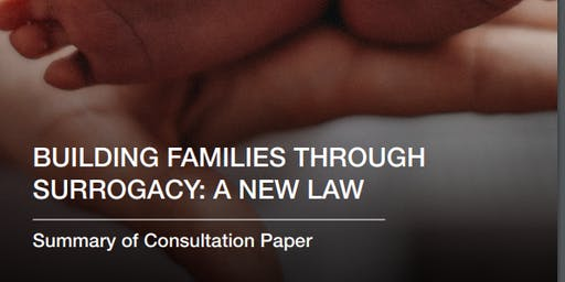 """Building families through surrogacy: a new law"" - a consultation event (Cardiff)"