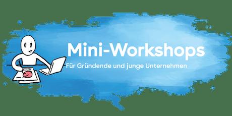 Mini-Workshop «Wie gestalte ich mein Angebot?»  Tickets