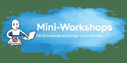 Mini-Workshop «Wie gestalte ich mein Angebot?»