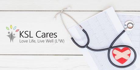 Health Talk - Cardiac Disease & Stroke tickets