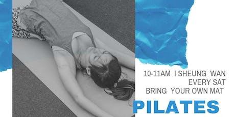 Pilates Mat Group Class (SW-20 July) tickets