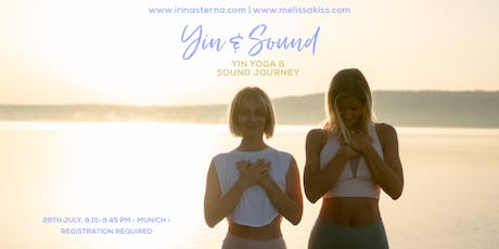 Yin Yoga & Sound Journey with Irina & Melissa Tickets