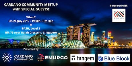 Cardano Community Meetup tickets