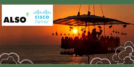 ALSO tänuüritus - Dinner in The Sky Cisco partneritele tickets