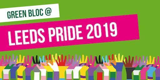 Green Bloc at Leeds Pride 2019