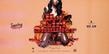 Hot Girl Summer at Mister Rich Sunday 07.21 tickets