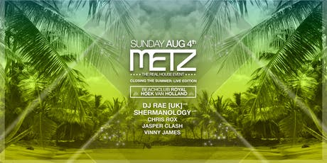 METZ on the Beach - Closing summer edition tickets