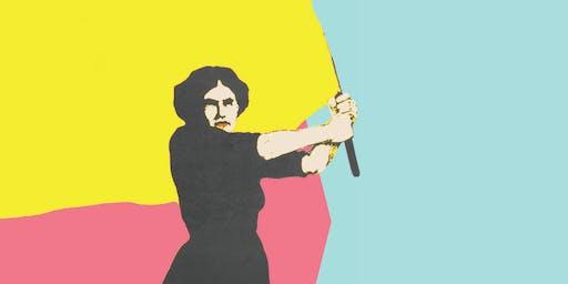 In strijd met de roeping der vrouw!
