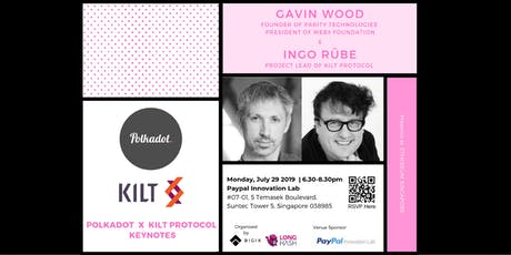 Polkadot x KILT PROTOCOL Keynotes tickets