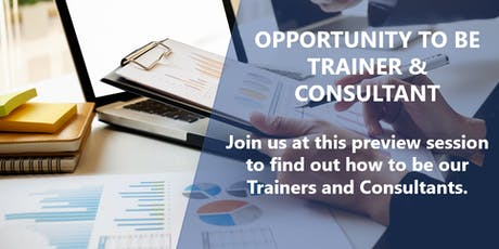 Preview Session for Retail Trainers / Consultants tickets