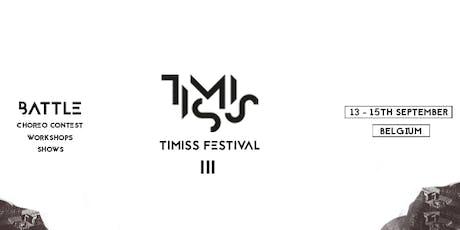 Timiss Festival III billets