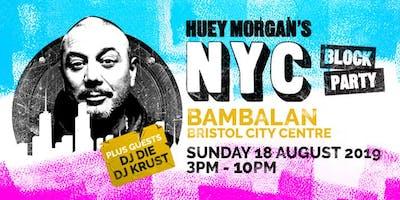 Huey Morgan's NYC Block Party