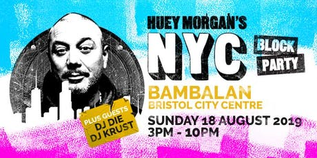 Huey Morgan's NYC Block Party tickets