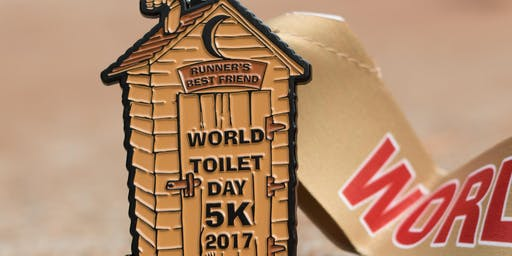 Now Only $7! World Toilet Day 5K! - Charleston