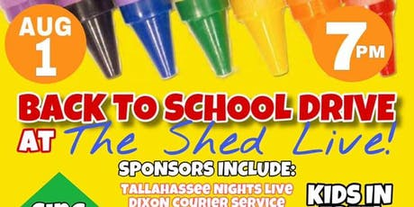 THE SHED LIVE - It's not just a show, it's a vibe!/ BACK TO SCHOOL DRIVE tickets