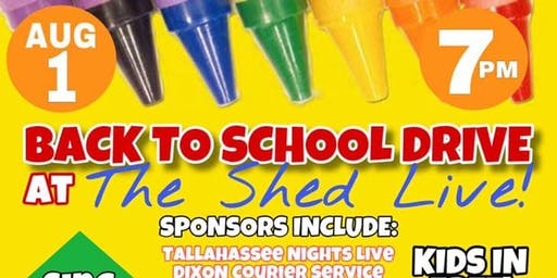 THE SHED LIVE - It's not just a show, it's a vibe!/ BACK TO SCHOOL DRIVE